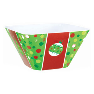 Holiday Buzz Cocktail Bowl- 10 Inch