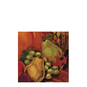 Harvest Still Life Beverage Napkins