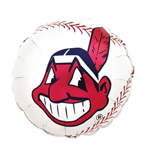 Cleveland Indians Balloon- 18in