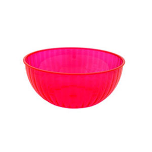 Neon 192 Ounce Plastic Party Bowl - Pink