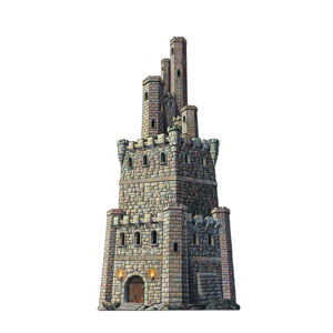 Castle Tower Cutout - 4ft