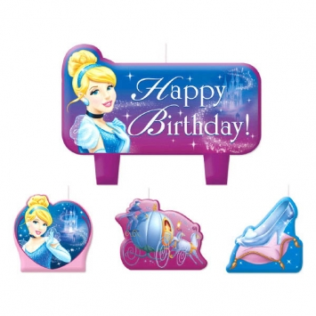 Disney Cinderella Mini Molded Candles