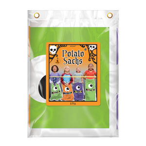 Boo Crew Potato Sacks- 6ct