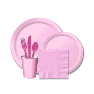 Candy Pink Tableware Pack