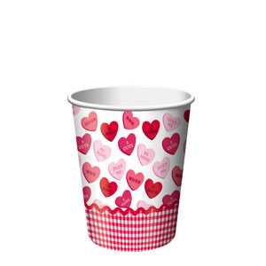 Sweet Greetings 9 oz. Cups