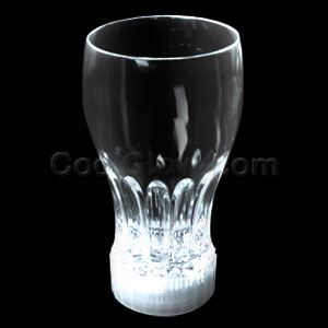 LED 12oz Flashing Cup - White