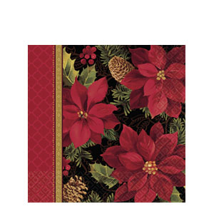 Holiday Enchantment Plastic Table Cover