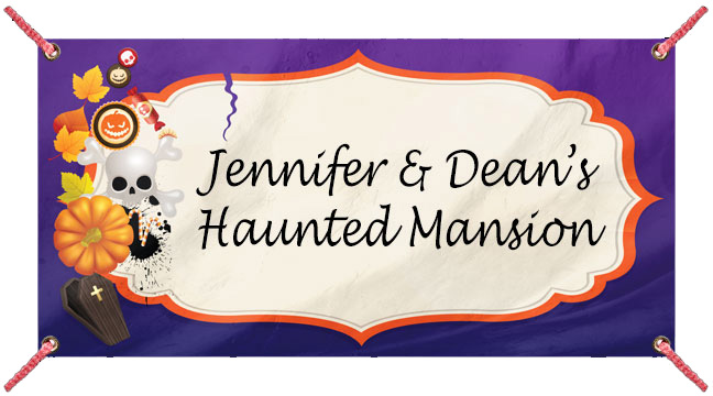 Halloween Icons Purple - Custom Banner