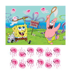 SpongeBob Party Game- 3pc
