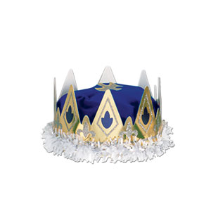 Royal Queen Crown - Blue