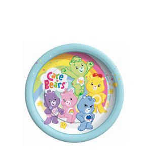Care Bears 7 Inch Plates- 8ct