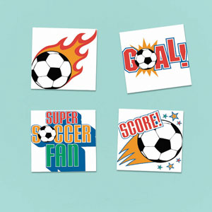 Soccer Tattoo- 24ct