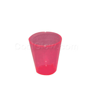 Neon Pink 2 Ounce Shot Glasses - 50 count