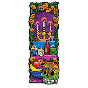 Day of the Dead Altar Cutout - 22in