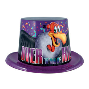 Over the Hill Topper Hat - Full Size
