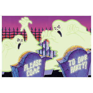 Ghouls and Graves Invitations- 8ct
