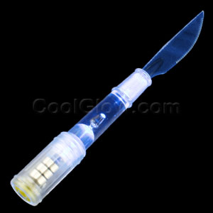 LED Knife - Blue