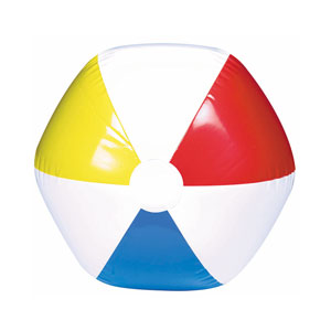 Inflatable Beach Ball- 13in
