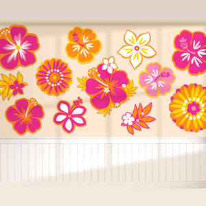 Warm Flower Cutout Assortment- 12pc