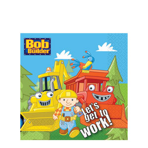 Bob The Builder Luncheon Napkins- 16ct