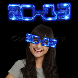 LED 2013 Eye Glasses - Blue