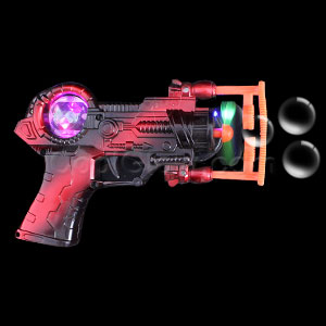 LED Super Bubble Gun - Metallic