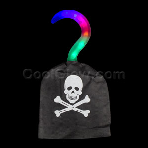 Fun Central V302 LED Light Up Pirate Hook