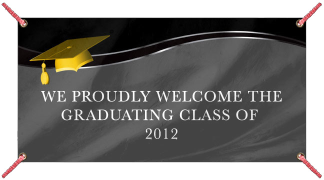 Graduation Cap - Custom Banner