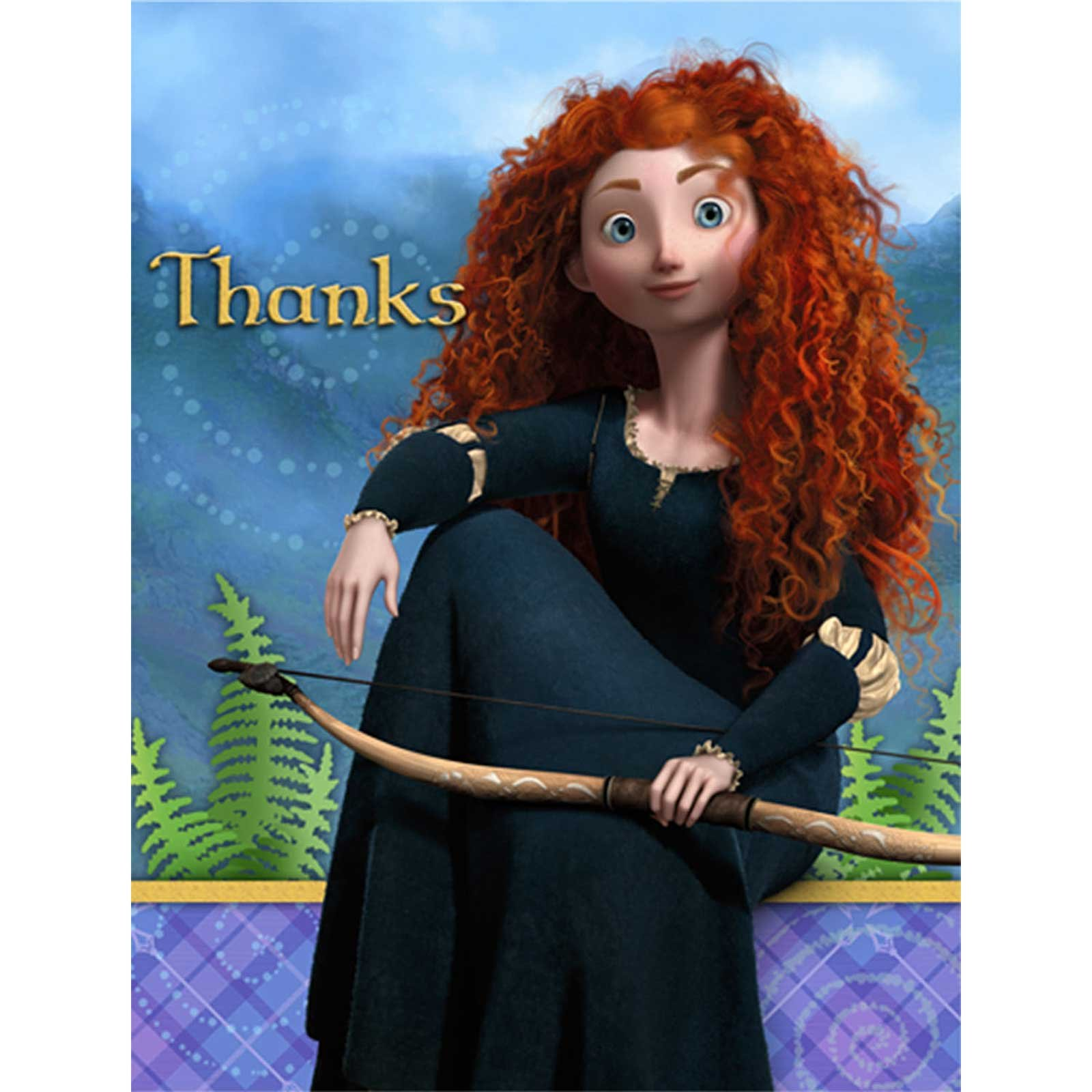 Disney Brave Thank-You Notes
