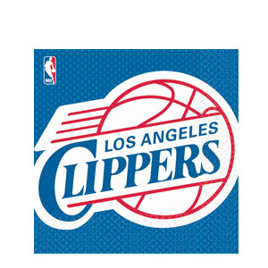 L.A. Clippers Luncheon Napkins