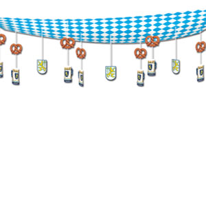 Oktoberfest Ceiling Decor - 12ft