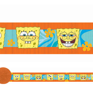 SpongeBob Buddies Crepe Streamer- 30ft