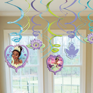 Disney Princess and The Frog Swirls- 12ct