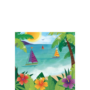 Ocean View Beverage Napkins