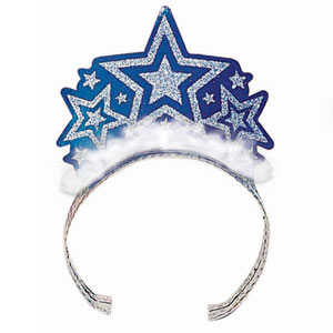 Patriotic Tiara - Blue