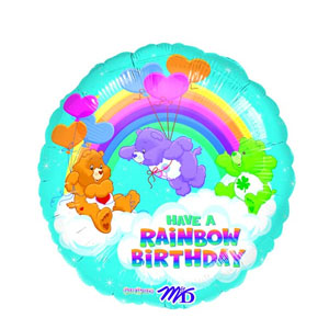 Care Bears Rainbow Birthday Balloon- 18in