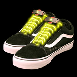 LED Shoe Laces - Yellow
