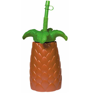 Palm Tree Straw Cup - 22 oz.