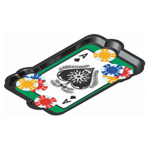 Casino Plastic Tray - 14in