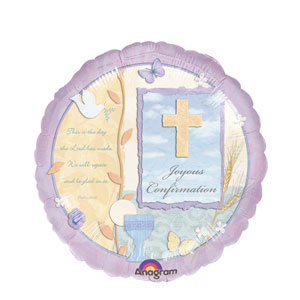 Inspirational Confirmation Balloon- 18in