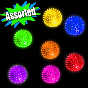 LED Bumpy Massage Balls
