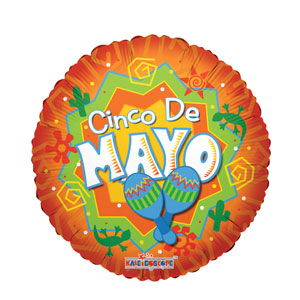Cinco de Mayo Cha Cha Balloon- 18in