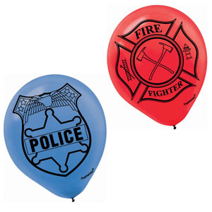 Lego City Printed Latex Balloons- 6ct