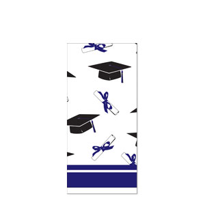 Grad Plastic Tablecover - Purple