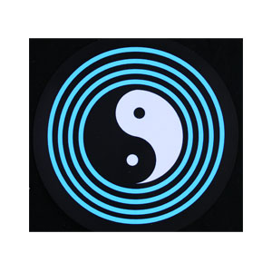 LED Sound Activated Patch - Yin Yang