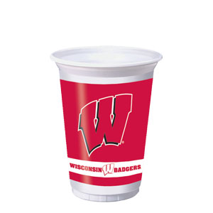 Wisconsin 20 oz. Cups