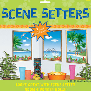 Window View Scene Setters- 3pc