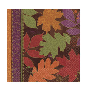 Fall Forward Dinner Napkins