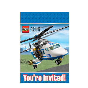Lego Invitations- 8ct