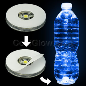 LED Motion Activated Bottle Illuminator - Blue